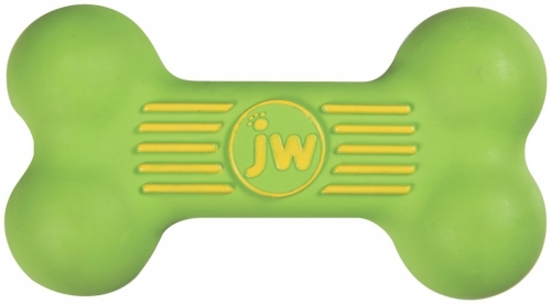 JW iSqueak Bone Medium Green in the group Dog toys / Other toys at Dogmania (385002)