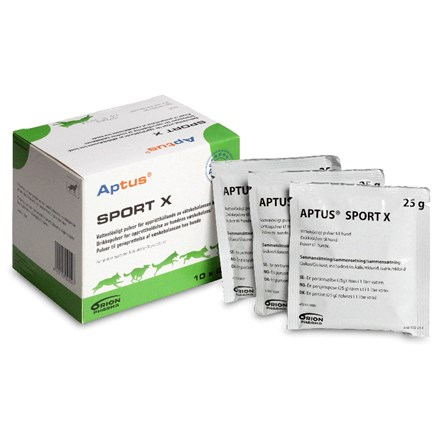Aptus Sport X Powder - Energy & Vitamins 25 g 10 pc in the group Other / Supplements at Dogmania (482)