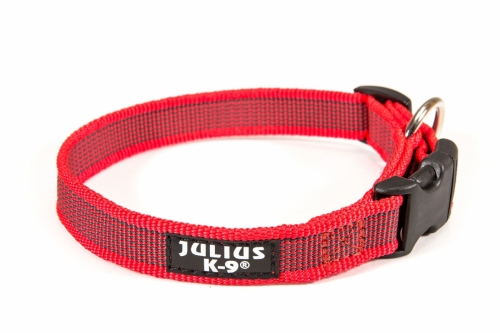 Julius K9 Color & Gray Collar Red in the group Dog Equipment / Dog Collars / Adjustable Dog Collars at Dogmania (569)