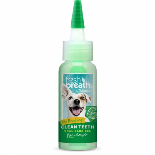Tropiclean Fresh Breath Clean Teeth Gel 59 ml i gruppen Övrigt / Vård / Munvård hos Dogmania (573)