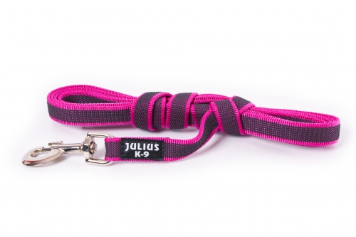 Julius K9 Color Amp Gray Super Grip Line With Rubber Threads