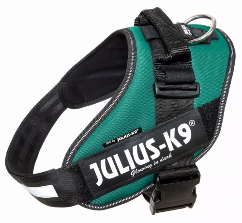 Julius K9 IDC Sele Darkgreen in the group Dog Equipment / Dog Harnesses / Chest Harness at Dogmania (676)