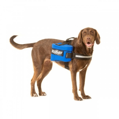 Julius K9 IDC Side Bags Blue in the group Dog Equipment / Dog Harnesses / Accessories / Accessories for Julius K9 at Dogmania (703)