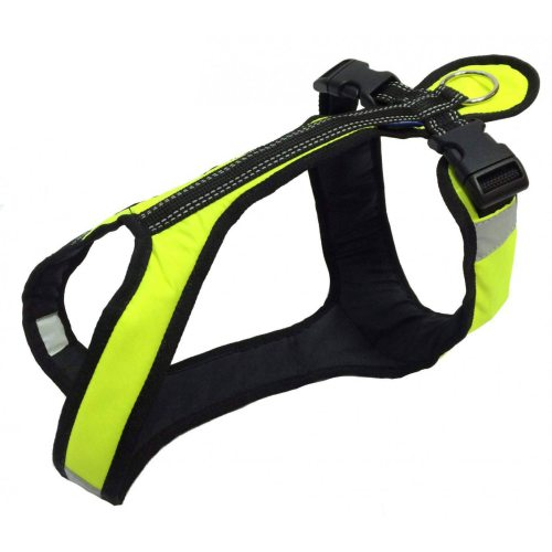 Zero DC SHORTER Harness Neongreen in the group Dog Equipment / Dog Harnesses / Y Harnesses at Dogmania (719)