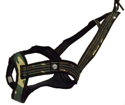 Zero DC FASTER Harness Army in the group Dog Equipment / Dog Harnesses / Mushing Harnesses at Dogmania (752)