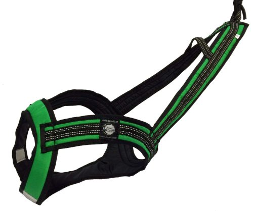 Zero DC FASTER Harness Green in the group Dog Equipment / Dog Harnesses / Mushing Harnesses at Dogmania (754)