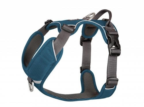 DOG Copenhagen Comfort Walk Pro Harness Ocean Blue in the group Dog Equipment / Dog Harnesses / Y Harnesses at Dogmania (825)
