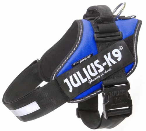 Julius K9 IDC Harness Blue in the group Dog Equipment / Dog Harnesses / Chest Harness at Dogmania (887)