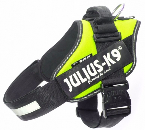 Julius K9 IDC Harness Neongreen (UV) in the group Dog Equipment / Dog Harnesses / Chest Harness at Dogmania (889)