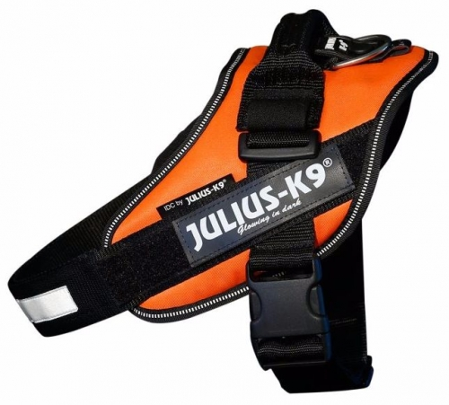 Julius K9 IDC Harness Neonorange (UV) in the group Dog Equipment / Dog Harnesses / Chest Harness at Dogmania (890)