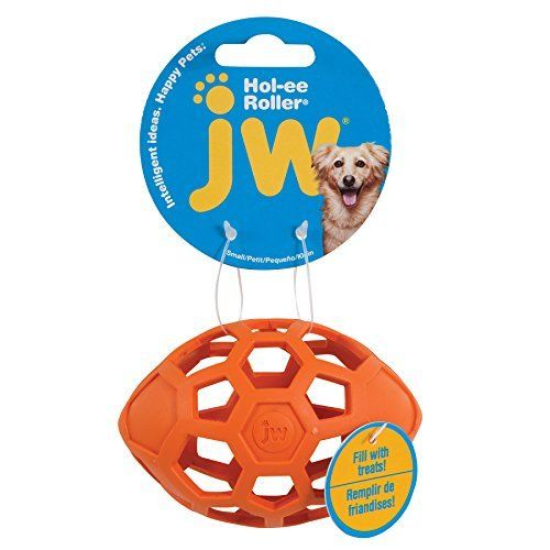 JW Hol-ee Roller Egg Orange in the group Dog toys / Balls at Dogmania (947)