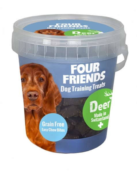 FourFriends Training Treats Deer 400g i gruppen Hundgodis hos Dogmania (999)