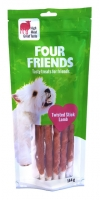 FourFriends Dog Twisted Stick Lamm 25 cm 5-pack