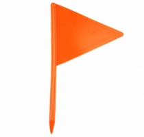 Flags for dog track Orange