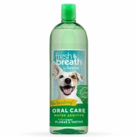 Tropiclean Fresh Breath Water Additive Original Munvatten för hund 473 ml
