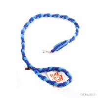 Tug-E-Nuff Braided Leash, Dark blue/Light blue