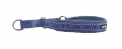 Hurtta Casual Half Choke Collar River Blue