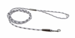 Hurtta Casual Rope Leash Reflective 180 cm Ash Grey/Raven Black