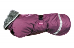 Pomppa Perus Warming Dog Coat Plum