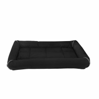 Dogman Buddy Dog Bed With Edges Black