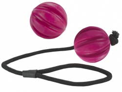 Dog Comets Ball Halley Pink Boll med Rep