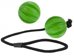 Dog Comets Ball Hale-Bopp Green With Rope
