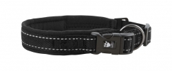 Hurtta Casual Padded Collar Raven