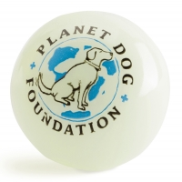 Planet Dog Orbee-Tuff Glow for Good Ball Självlysande