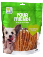 FourFriends Twisted Stick Chicken 12,5cm 40-pack