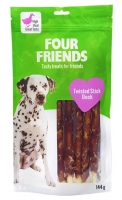 FourFriends Twisted Stick Duck 25 cm 5-pack