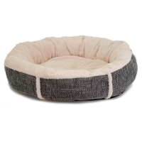 Dogman Mysan Round Bed Grey/Offwhite