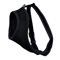 Dogman Mesh Harness Iris Black