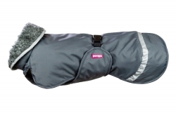 Pomppa Perus Warming Dog Coat Graphite NEW