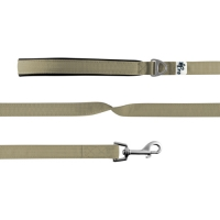 Curli Basic Leash Nylon Tan