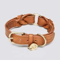 Cloud7  Dog Collar Hyde Park Cognac
