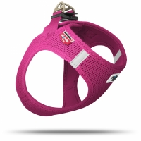 Curli Vest Harness Air-Mesh Fuchsia