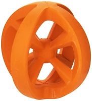 New Angle Space Ball X-Ball Fetch Toy Orange
