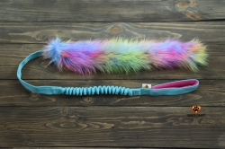 Dog's Craft Unicorn Fur Long Turkos