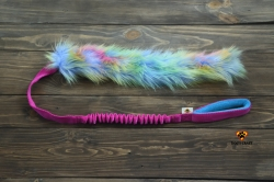 Dog's Craft Unicorn Fur Long Rosa