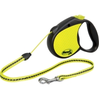 Flexi Neon Reflect Dog Leash