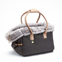 Cloud7 Dog Bag Como Heather Brown Hundväska