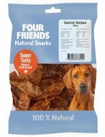 FourFriends Natural Snacks Ostrich Stripes