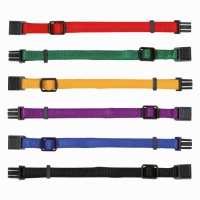 Trixie Adjustable Puppy Collars Color Mix 1, 6-pc