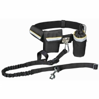 Trixie Hands Free Waist Belt With pockets and Bungee Leash