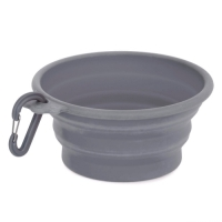 Dogman Travel Bowl Soft Steel