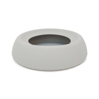 Dogman Non-Spill Water Bowl Soft Steel Grey