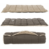 Trixie Bendson Travel Blanket Dark Brown/Beige