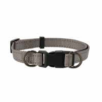 Dogman Adjustable Dog Collar Iris Grey