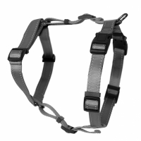 Dogman Adjustable H-harness Iris Grey