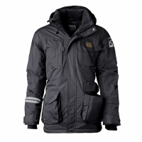DogCoach Dogwalking Winter Jacket Men Dark Grey